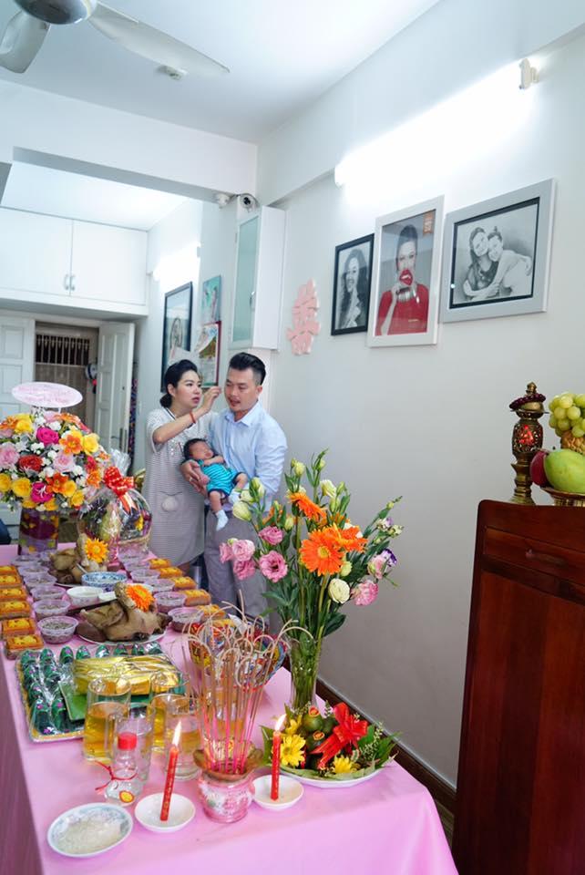 Vừa thấy cận mặt con trai Lê Khánh, Lương Thế Thành 'kêu trời' khi phát hiện ra điểm bất ngờ - Ảnh 9
