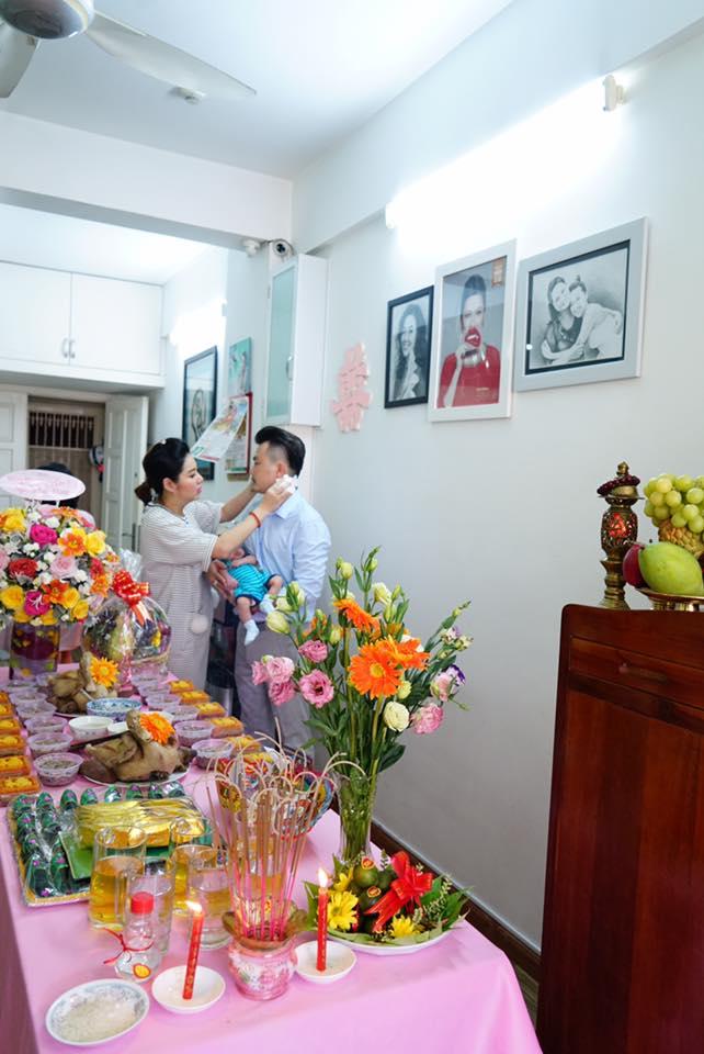 Vừa thấy cận mặt con trai Lê Khánh, Lương Thế Thành 'kêu trời' khi phát hiện ra điểm bất ngờ - Ảnh 11