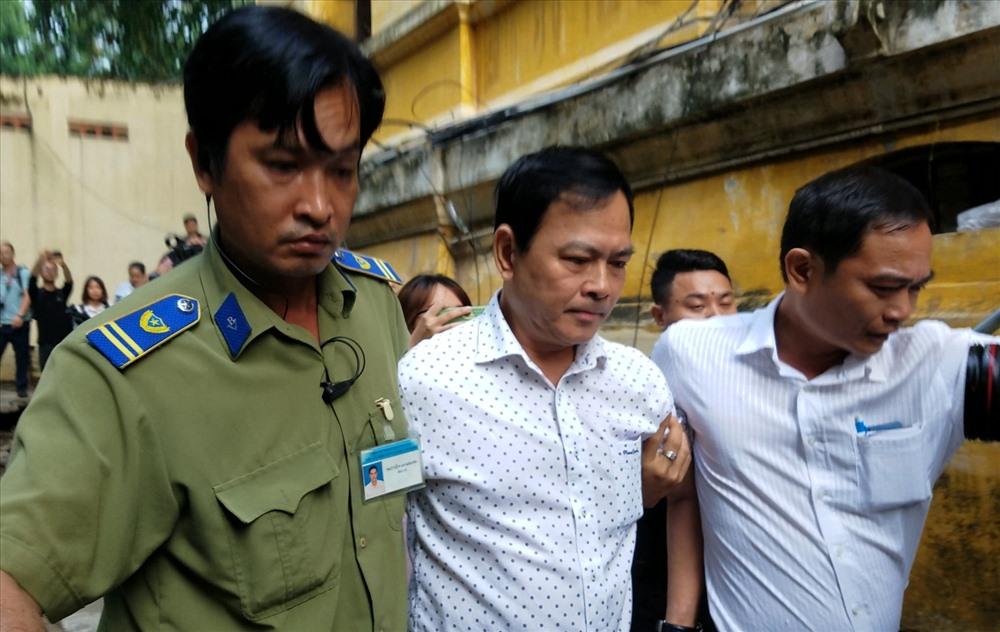 Ông Nguyễn Hữu Linh đi đường hầm riêng để vào phòng xét xử phúc thẩm kín - Ảnh 1