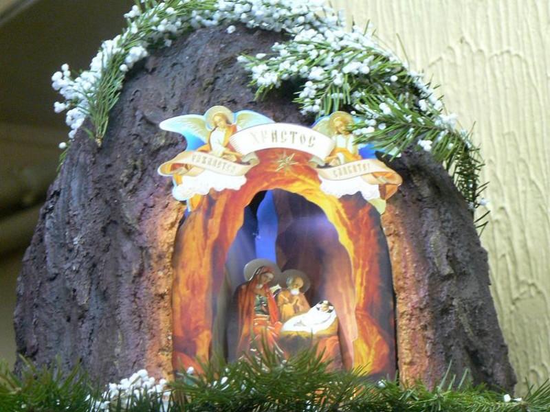 Mẫu hang đá ngày Noel đẹp nhất