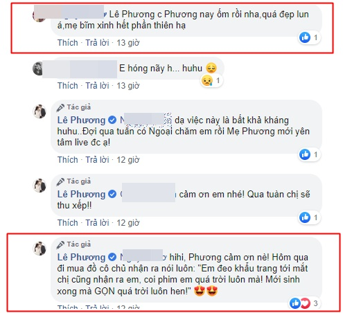 dien vien le phuong tang can 3