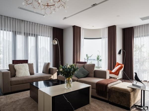 Biệt thự 378m² tạo nên dấu ấn khác biệt với vẻ đẹp hiện đại ở Hạ Long - Ảnh 1