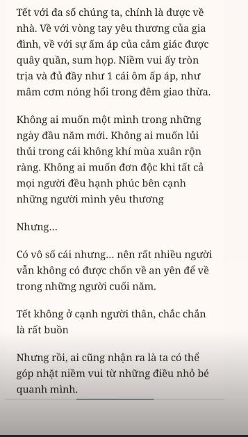 Đầu năm mới, Phạm Hương bất ngờ chia sẻ: 'Không ai muốn lủi thủi trong ngày đầu xuân rộn ràng' - Ảnh 3