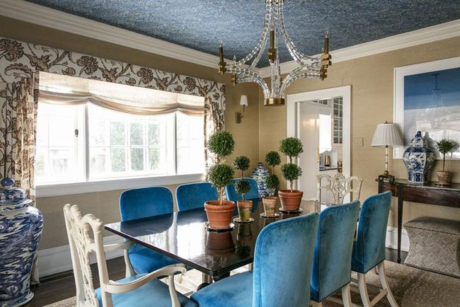 Tuyệt chiêu lựa chọn rèm cửa để nâng tầm vẻ đẹp của căn phòng ăn gia đình để đón xuân mới - Ảnh 2