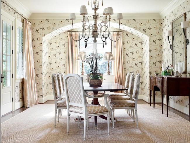 Tuyệt chiêu lựa chọn rèm cửa để nâng tầm vẻ đẹp của căn phòng ăn gia đình để đón xuân mới - Ảnh 9