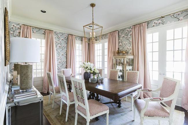 Tuyệt chiêu lựa chọn rèm cửa để nâng tầm vẻ đẹp của căn phòng ăn gia đình để đón xuân mới - Ảnh 10