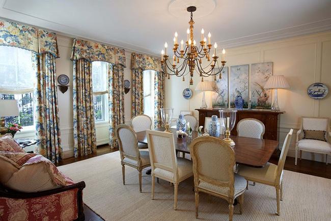 Tuyệt chiêu lựa chọn rèm cửa để nâng tầm vẻ đẹp của căn phòng ăn gia đình để đón xuân mới - Ảnh 11