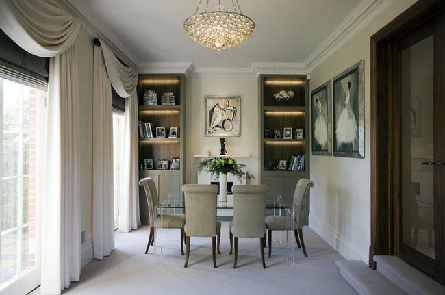 Tuyệt chiêu lựa chọn rèm cửa để nâng tầm vẻ đẹp của căn phòng ăn gia đình để đón xuân mới - Ảnh 12