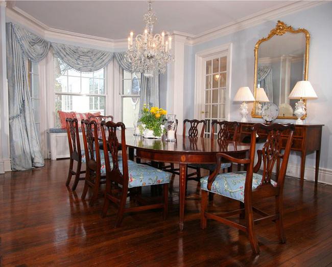 Tuyệt chiêu lựa chọn rèm cửa để nâng tầm vẻ đẹp của căn phòng ăn gia đình để đón xuân mới - Ảnh 13