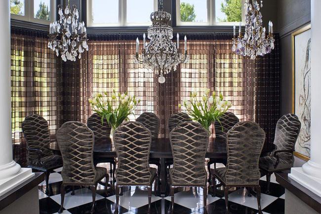 Tuyệt chiêu lựa chọn rèm cửa để nâng tầm vẻ đẹp của căn phòng ăn gia đình để đón xuân mới - Ảnh 14