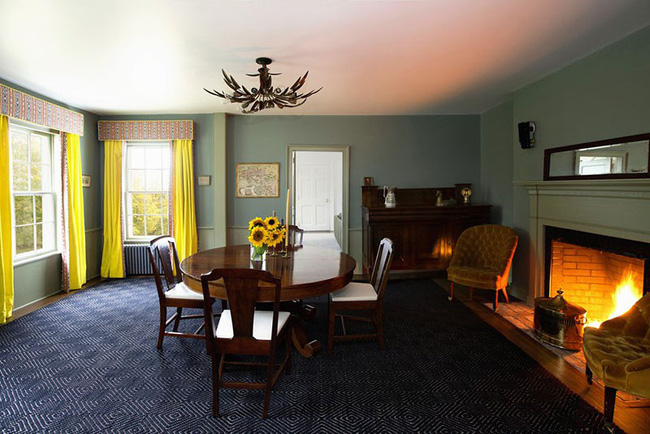 Tuyệt chiêu lựa chọn rèm cửa để nâng tầm vẻ đẹp của căn phòng ăn gia đình để đón xuân mới - Ảnh 3