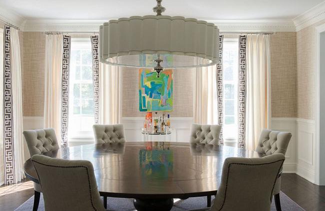 Tuyệt chiêu lựa chọn rèm cửa để nâng tầm vẻ đẹp của căn phòng ăn gia đình để đón xuân mới - Ảnh 15