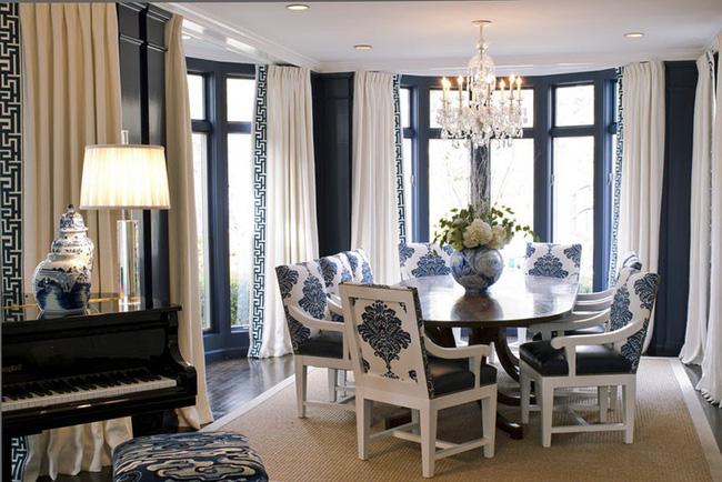 Tuyệt chiêu lựa chọn rèm cửa để nâng tầm vẻ đẹp của căn phòng ăn gia đình để đón xuân mới - Ảnh 17