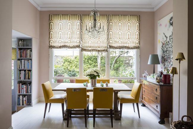Tuyệt chiêu lựa chọn rèm cửa để nâng tầm vẻ đẹp của căn phòng ăn gia đình để đón xuân mới - Ảnh 18