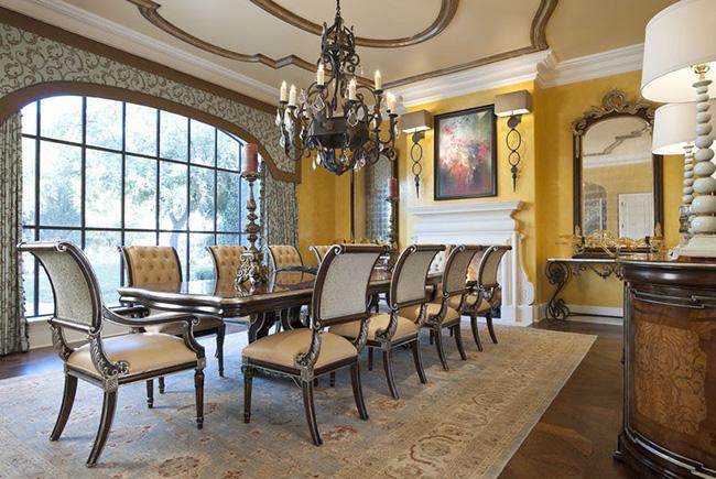 Tuyệt chiêu lựa chọn rèm cửa để nâng tầm vẻ đẹp của căn phòng ăn gia đình để đón xuân mới - Ảnh 4