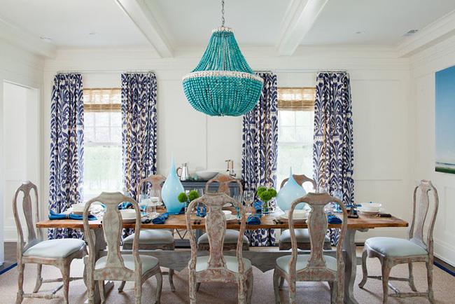 Tuyệt chiêu lựa chọn rèm cửa để nâng tầm vẻ đẹp của căn phòng ăn gia đình để đón xuân mới - Ảnh 5
