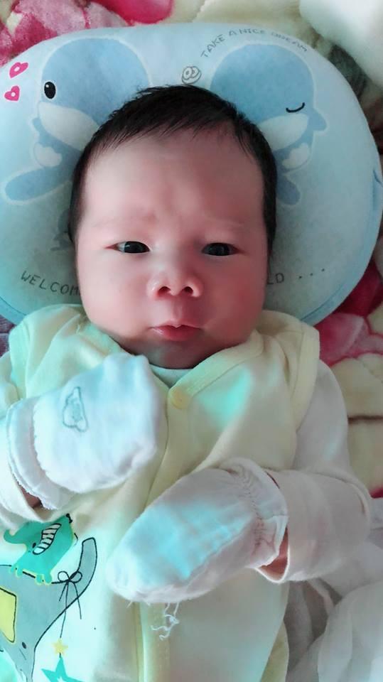 Mẹ 9X sinh thường bé nặng 4,4kg có bí quyết cực hay để con bụ bẫm, còn mẹ lại chỉ thon gọn thế này - Ảnh 6