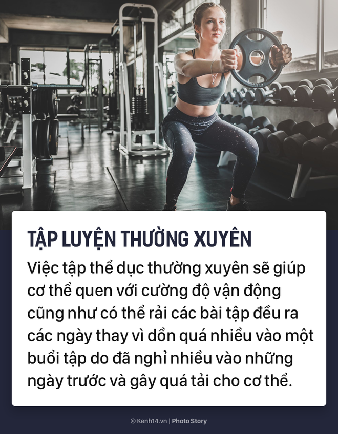 Tập luyện hàng ngày để nâng cao sức khỏe nhưng bạn cũng phải chú ý những điều này để hạn chế chấn thương - Ảnh 5