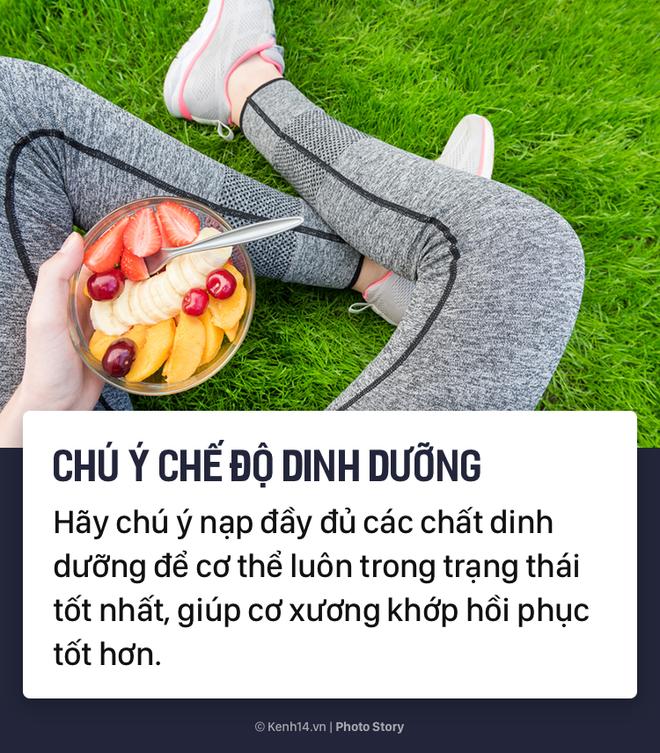 Tập luyện hàng ngày để nâng cao sức khỏe nhưng bạn cũng phải chú ý những điều này để hạn chế chấn thương - Ảnh 6