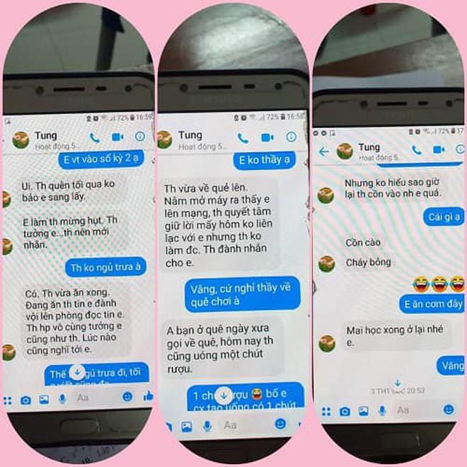 Thầy giáo bị tố nhắn tin gạ gẫm nữ sinh lớp 10 nói rất hối hận, hứa sẽ điều chỉnh - Ảnh 2