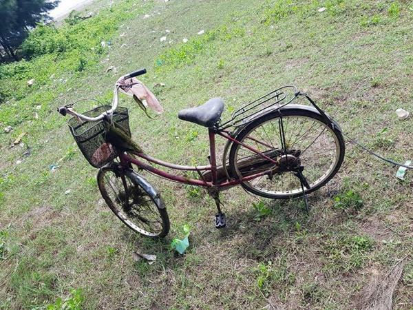 Nam Định: Phát hiện thi thể người phụ nữ tử vong bên chiếc xe đạp trên rừng thông - Ảnh 1