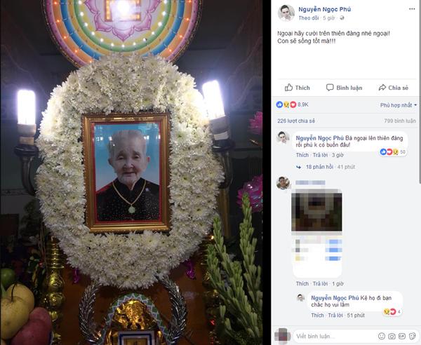 Tạm biệt bà ngoại 'xì-tin' nhất Việt Nam, nơi thiên đàng ngoại hãy cứ mỉm cười như thế nhé! - Ảnh 5