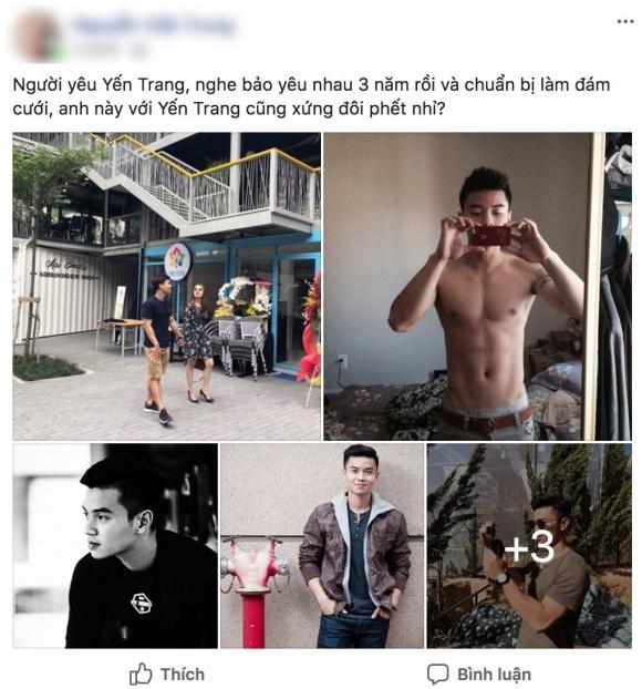 Tưởng là 'ế' dài hạn, không ngờ Yến Trang lại có người yêu điển trai, sở hữu cơ bụng 6 múi vạn người mơ - Ảnh 1