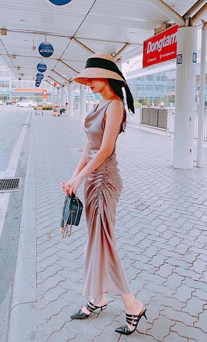 Midu quả là khéo mặc: Một chiếc váy diện đến 6 màu, mix đủ kiểu mà chẳng kiểu nào nhàm - Ảnh 7