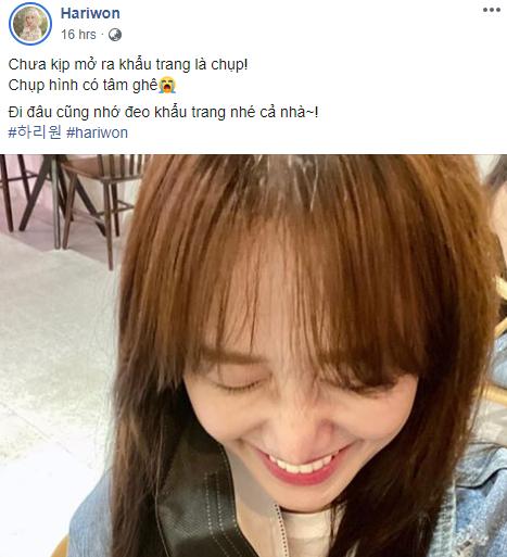 Hari Won lại bị nhắc nhở chuyện sử dụng sai trật tự từ ngữ trong tiếng Việt - Ảnh 1