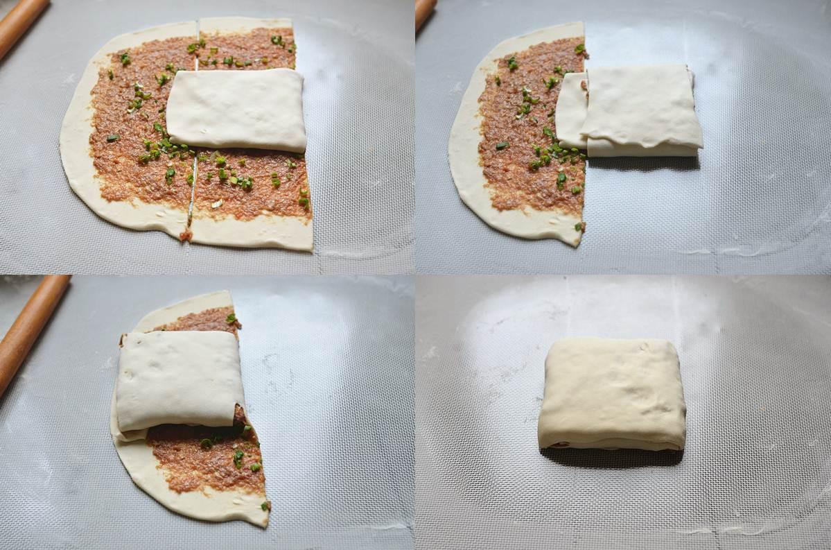 Thử ngay món bánh rán ngàn lớp nhân thịt bò ngon sửng sốt - Ảnh 2