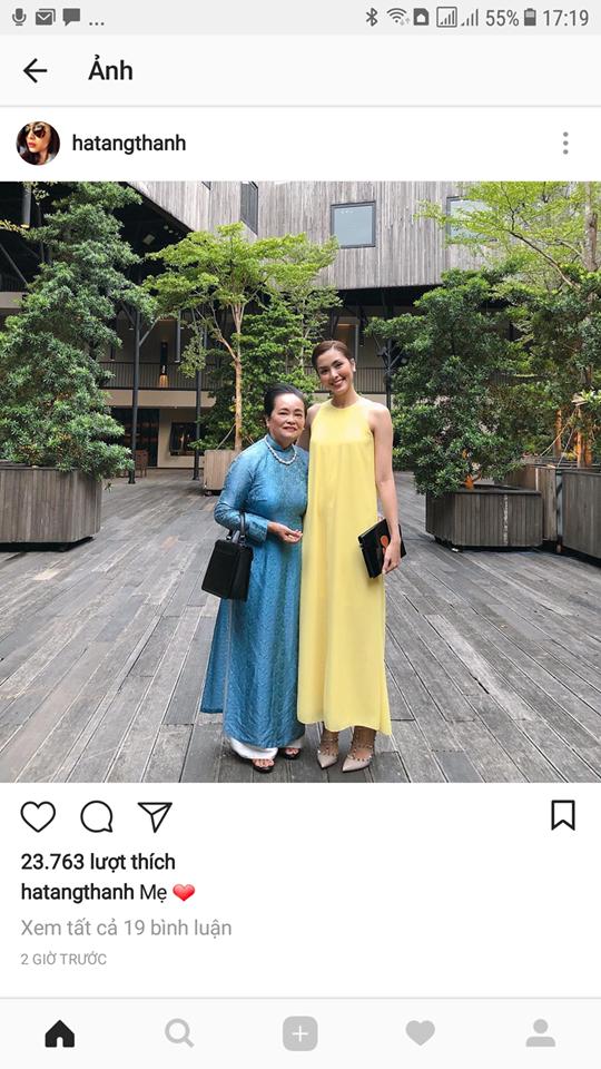 Mẹ ruột Tăng Thanh Hà đẹp sang trọng khi xuất hiện cùng cô con gái nổi tiếng - Ảnh 1