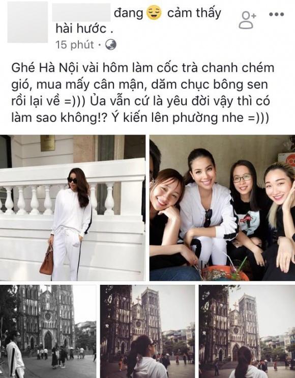 Giữa tin đồn nhập viện và khoá Facebook, Phạm Hương xuất hiện rạng rỡ tại Hà Nội - Ảnh 2