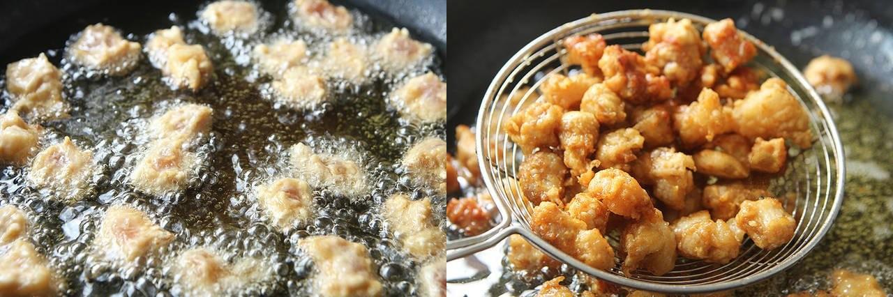 Thịt chiên xốt chua ngọt làm theo cách này thì người lớn khen nức nở, trẻ con ăn thun thút - Ảnh 3