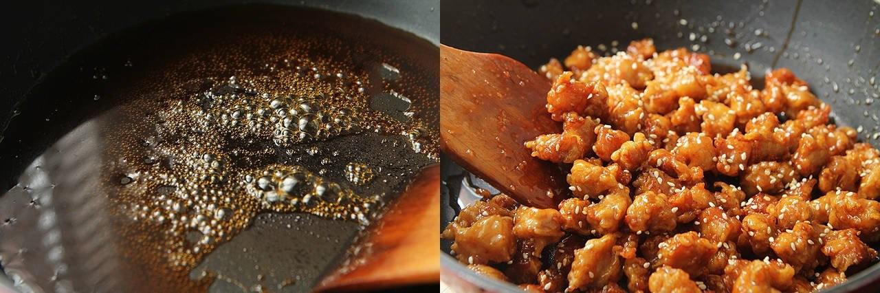 Thịt chiên xốt chua ngọt làm theo cách này thì người lớn khen nức nở, trẻ con ăn thun thút - Ảnh 4