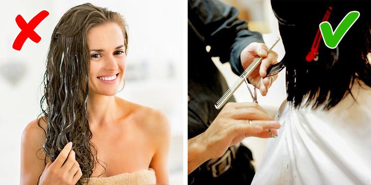 9 sai lầm khi chăm sóc khiến tóc ngày càng gãy rụng và xơ rối, không muốn hói đầu thì tránh xa  - Ảnh 8