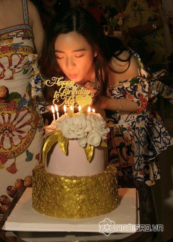Con gái Giáng My rạng rỡ như Hoa hậu trong tiệc sinh nhật tuổi 24 - Ảnh 1