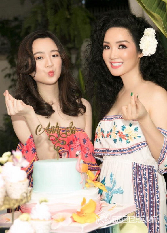 Con gái Giáng My rạng rỡ như Hoa hậu trong tiệc sinh nhật tuổi 24 - Ảnh 3