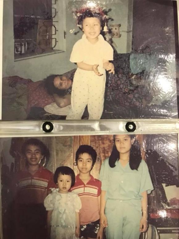 Hé lộ loạt ảnh hiếm lúc nhỏ của Hoa hậu Ngô Phương Lan - Ảnh 1