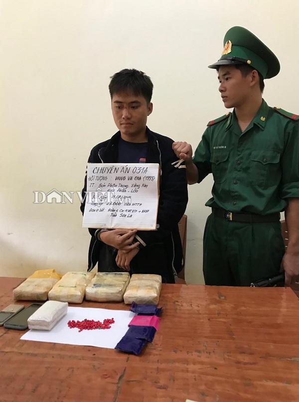 Bắt giữ 1 người nước ngoài vận chuyển 23.000 viên ma túy tổng hợp - Ảnh 1