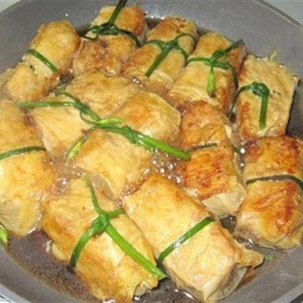 Cách làm món đậu phụ bao bố chay cho bữa cơm cuối tuần hấp dẫn - Ảnh 4