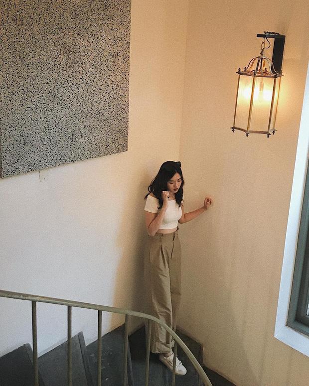 Nàng Á hậu được ví là 'bản sao của Hà Tăng': Style chỉ toàn màu đen - trắng nhưng sang chảnh như tiểu thư trâm anh thế phiệt - Ảnh 11