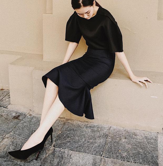 Nàng Á hậu được ví là 'bản sao của Hà Tăng': Style chỉ toàn màu đen - trắng nhưng sang chảnh như tiểu thư trâm anh thế phiệt - Ảnh 13