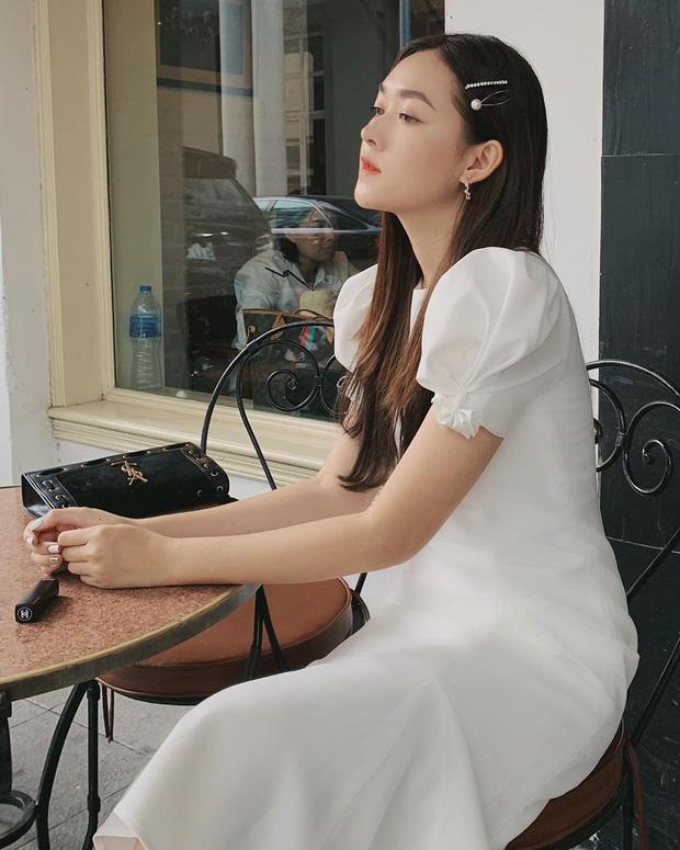 Nàng Á hậu được ví là 'bản sao của Hà Tăng': Style chỉ toàn màu đen - trắng nhưng sang chảnh như tiểu thư trâm anh thế phiệt - Ảnh 15