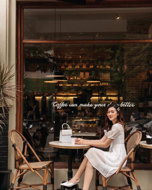 Nàng Á hậu được ví là 'bản sao của Hà Tăng': Style chỉ toàn màu đen - trắng nhưng sang chảnh như tiểu thư trâm anh thế phiệt - Ảnh 3
