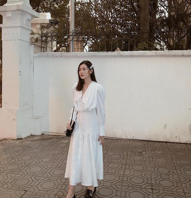 Nàng Á hậu được ví là 'bản sao của Hà Tăng': Style chỉ toàn màu đen - trắng nhưng sang chảnh như tiểu thư trâm anh thế phiệt - Ảnh 5