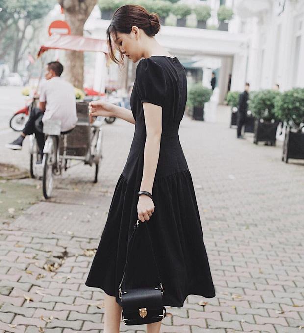 Nàng Á hậu được ví là 'bản sao của Hà Tăng': Style chỉ toàn màu đen - trắng nhưng sang chảnh như tiểu thư trâm anh thế phiệt - Ảnh 6
