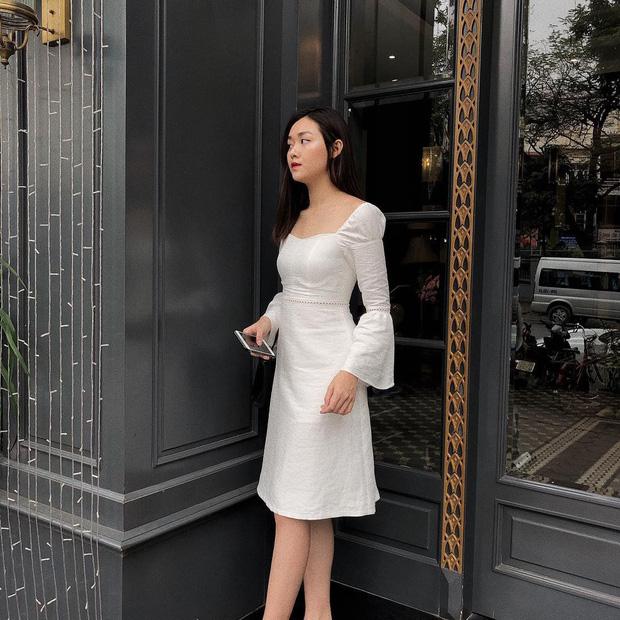 Nàng Á hậu được ví là 'bản sao của Hà Tăng': Style chỉ toàn màu đen - trắng nhưng sang chảnh như tiểu thư trâm anh thế phiệt - Ảnh 7