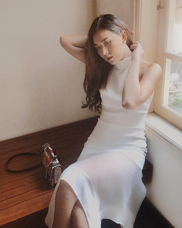 Nàng Á hậu được ví là 'bản sao của Hà Tăng': Style chỉ toàn màu đen - trắng nhưng sang chảnh như tiểu thư trâm anh thế phiệt - Ảnh 8