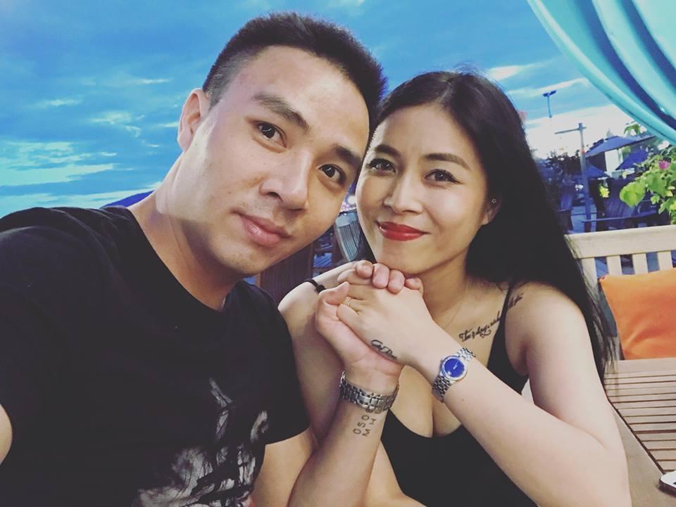 MC 'Chúng tôi là chiến sĩ' xinh đẹp, gợi cảm bên chồng điển trai - Ảnh 4