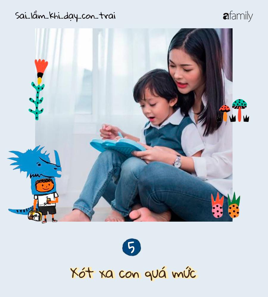 9 sai lầm nghiêm trọng của cha mẹ trong việc dạy dỗ con trai, càng ngẫm càng thấm! - Ảnh 5